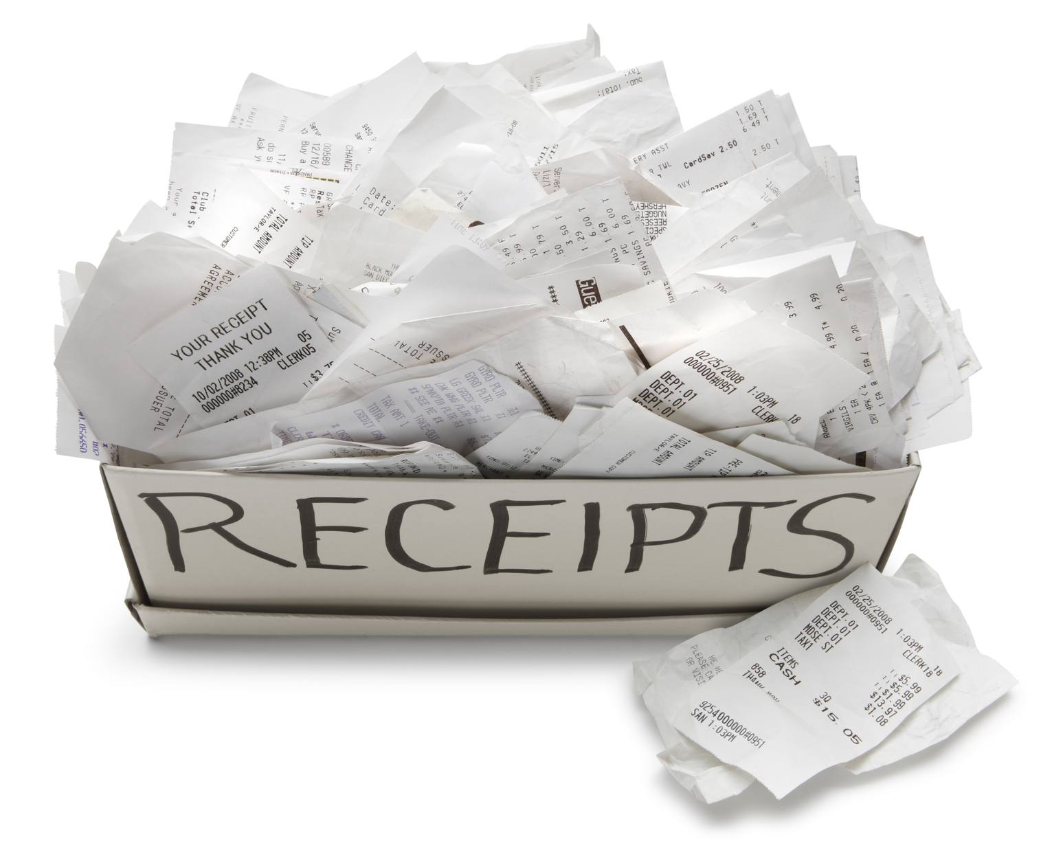 A look at a bad filing system.